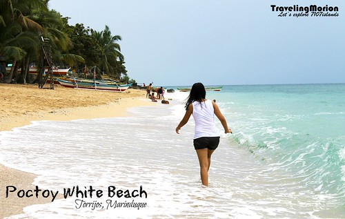 Poctoy White Beach in Torrijos   by Traveling Morion