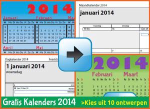 Gratis Kalenders 2014 Download, Preview jaarkalenders maandkalenders weekkalenders dagkalenders met de Belgie feestdagen en schoolvakanties. (download 2014)