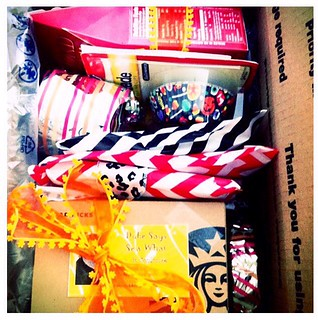 URHere package mailed