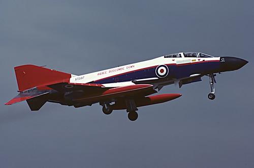 XT597 Phantom FG.1 A&AEE, MOD Boscombe Down, Greenham Common, IAT 83. | by Stuart Freer - Touchdown Aviation