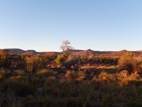 Palwag - uitzicht vanaf kampeerplaats 1