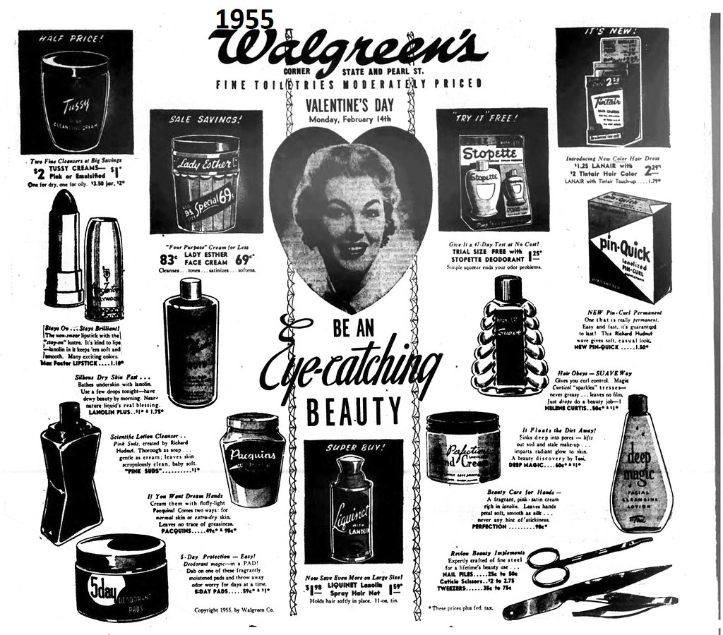 Walgreens drug store 1955 albany ny 1950s | AlbanyGroup Archive | Flickr