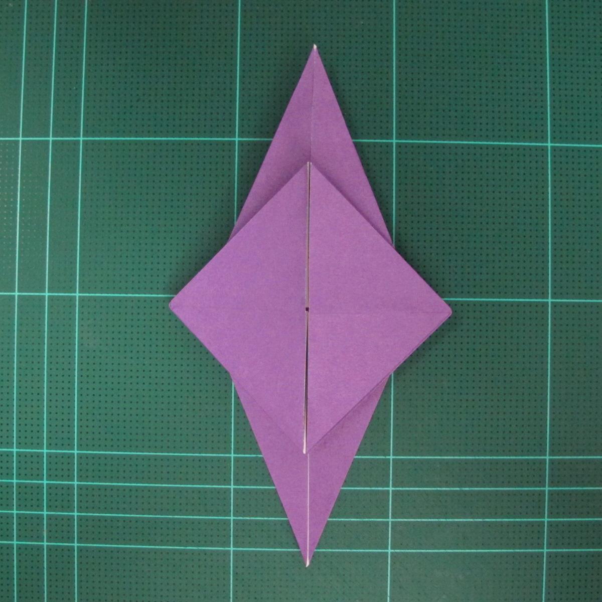 การพับกระดาษเป็นฐานนกอินทรี (Origami Eagle) 025