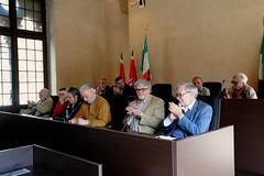 COMMEMORAZIONE E INAUGURAZIONE DEL PARCO CARLO GERLI GIA' SINDACO DI ABBIATEGRASSO 05 APRILE 2014  Foto A. Artusa
