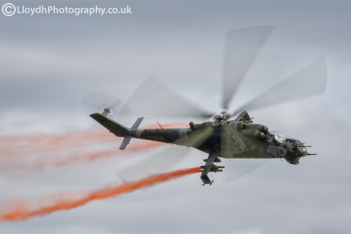 Czech Air Force Mil Mi-24V | by lloydh.co.uk