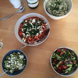 Greek salads. | by adactio