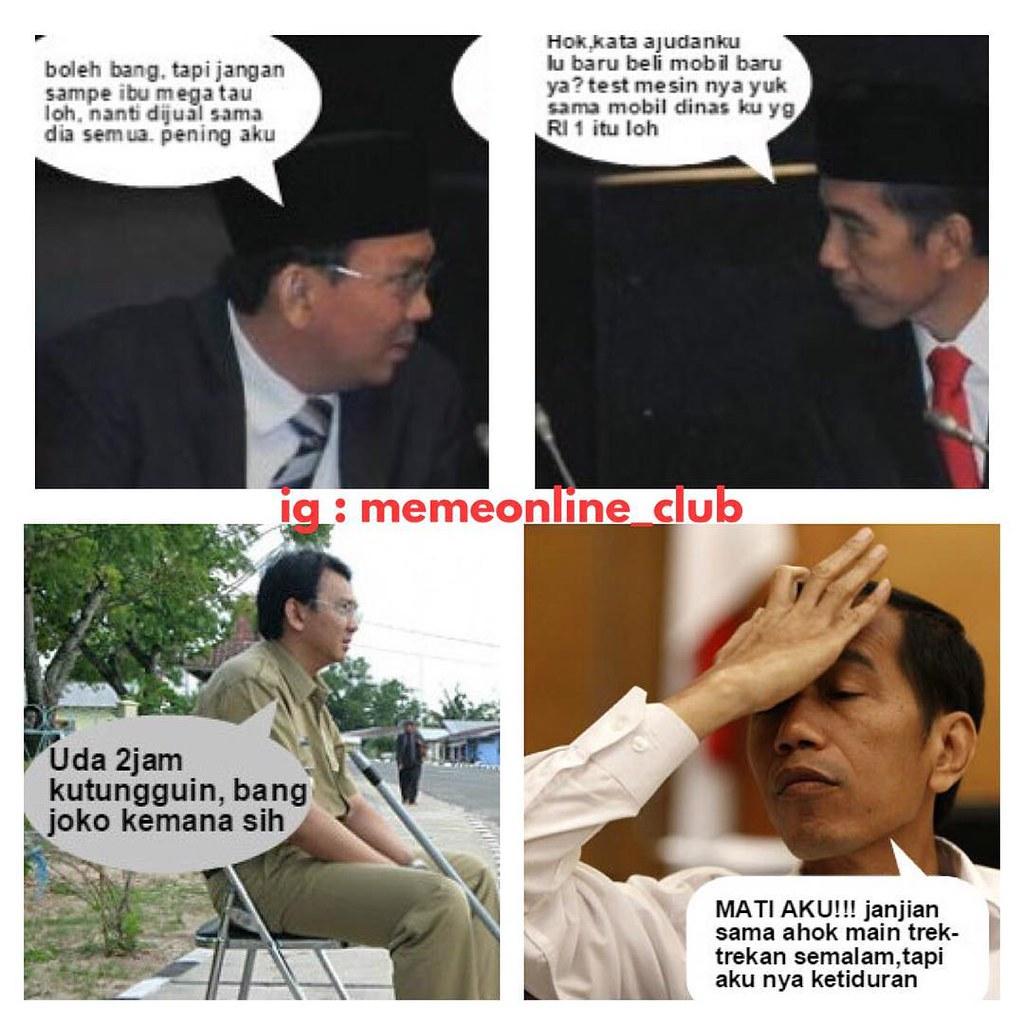 Lebaran Megawati Jokowi Presiden Lawak Kocak Humor