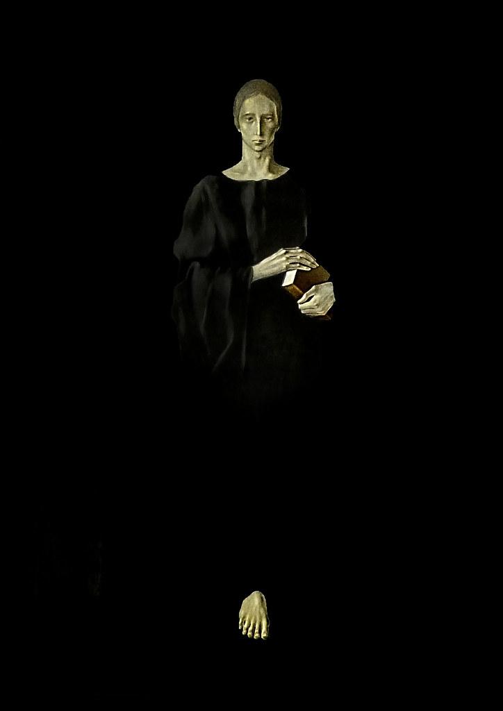 Sant Benet (1980), Montserrat Gudiol | Esta pintura de Monts… | Flickr