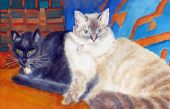 sue_barnum_cats_4in | by adine.rotman