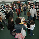 Busy bookshop |