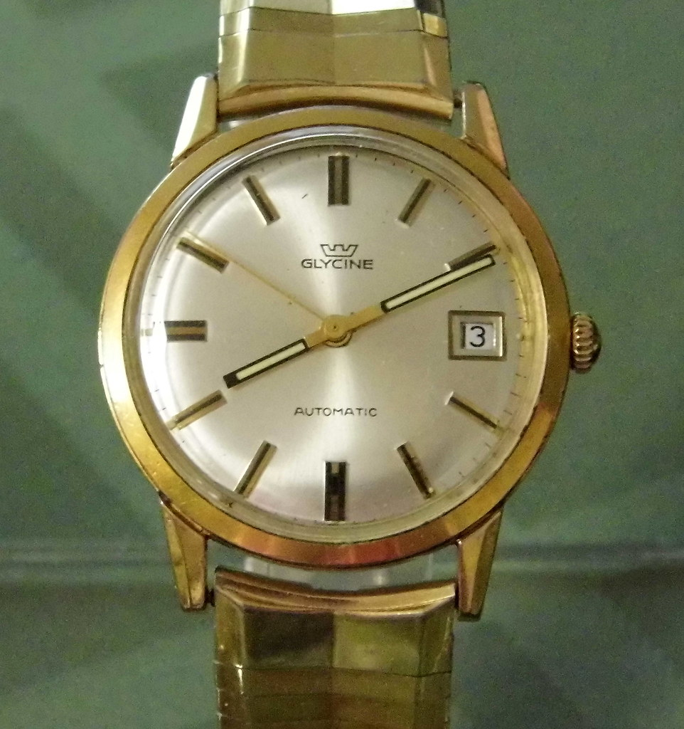 Vintage Glycine Men S Automatic Self Winding Watch Swis