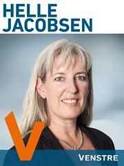 Helle Jacobsen, valgplakat 2013