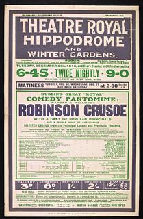 Pastomimes - Robinson Crusoe (the Pantomime Hero)