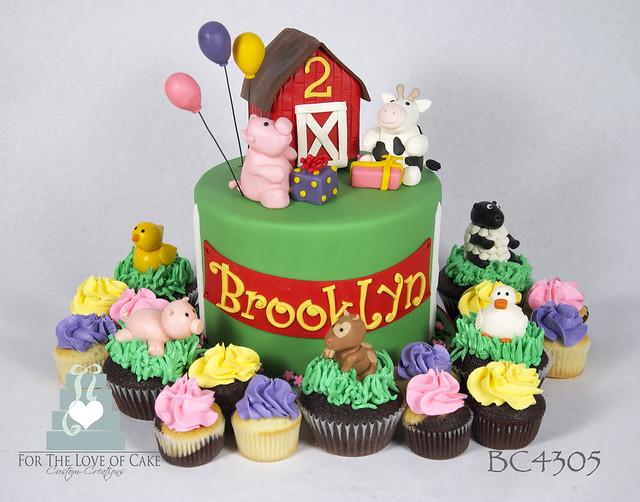 BC4305-farm-birthdaycake-cupcakes-toronto-oakville