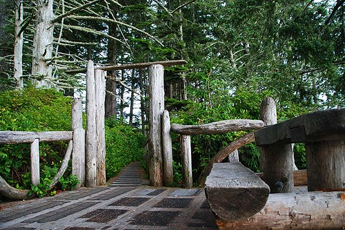 Wild Pacific Trail, Ucluelet, West Coast Vancouver Island, British Columbia