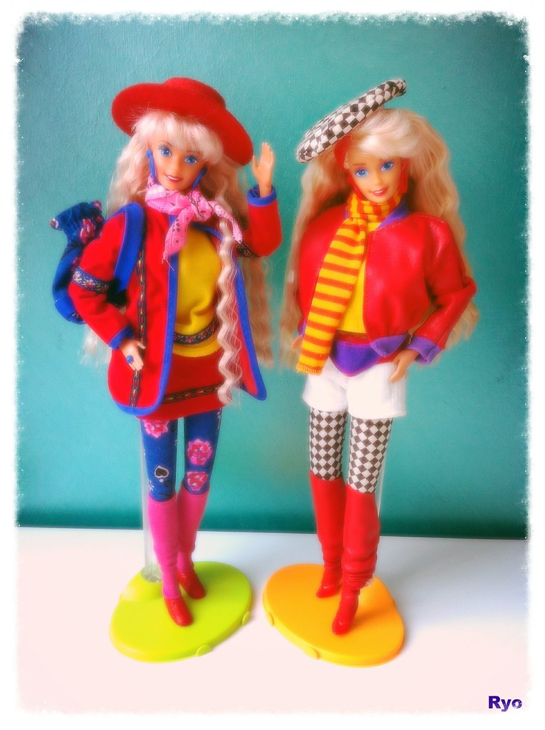 Barbie Benetton 1990 - 1991   They are so cool and their out…   Flickr