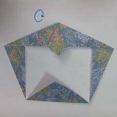 วิธีการพับกระดาษเป็นรูปม้า (Origami Horse) 020