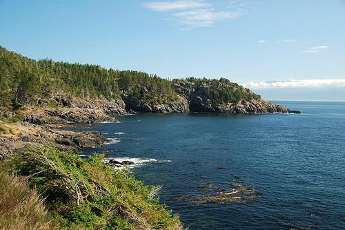 East Sooke Park on Juan de Fuca Strait, Sooke, Victoria, Vancouver Island, British Columbia, Canada