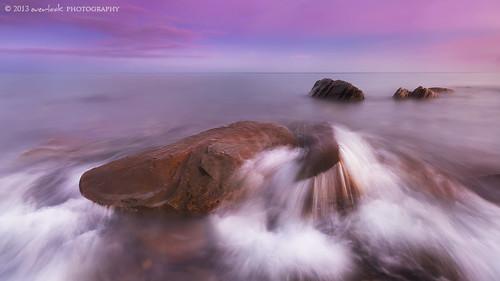 moon seascape sunrise landscape photography dawn rocks australia adelaide dee southaustralia everlook hallettcove