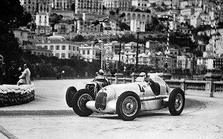 Mercedes-Benz W 25 B @ 1935 Monaco Grand Prix