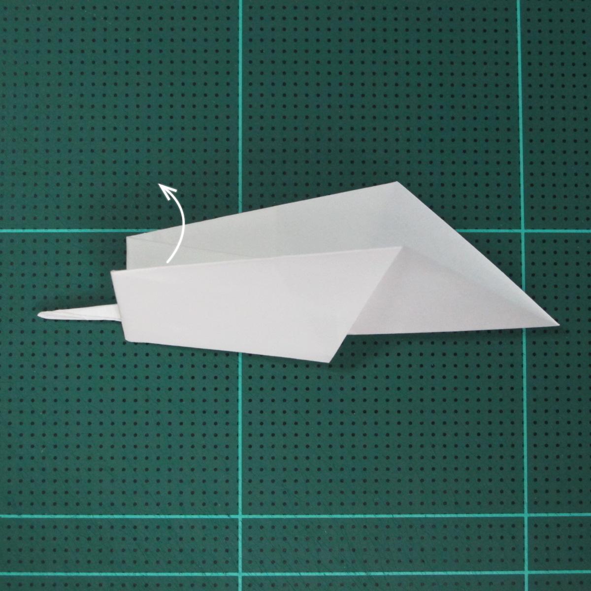 การพับกระดาษเป็นนกกระสา (Origami Pelican) 009