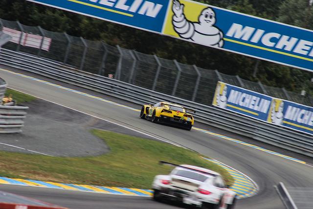 Corvette C7R at Porsche Curves
