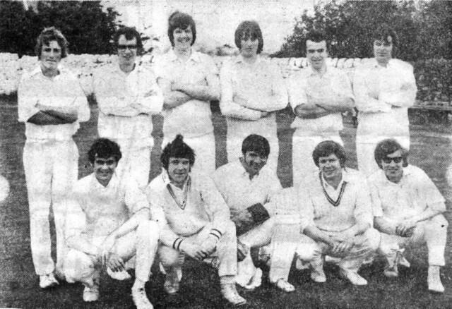Steeton 1st XI 1976