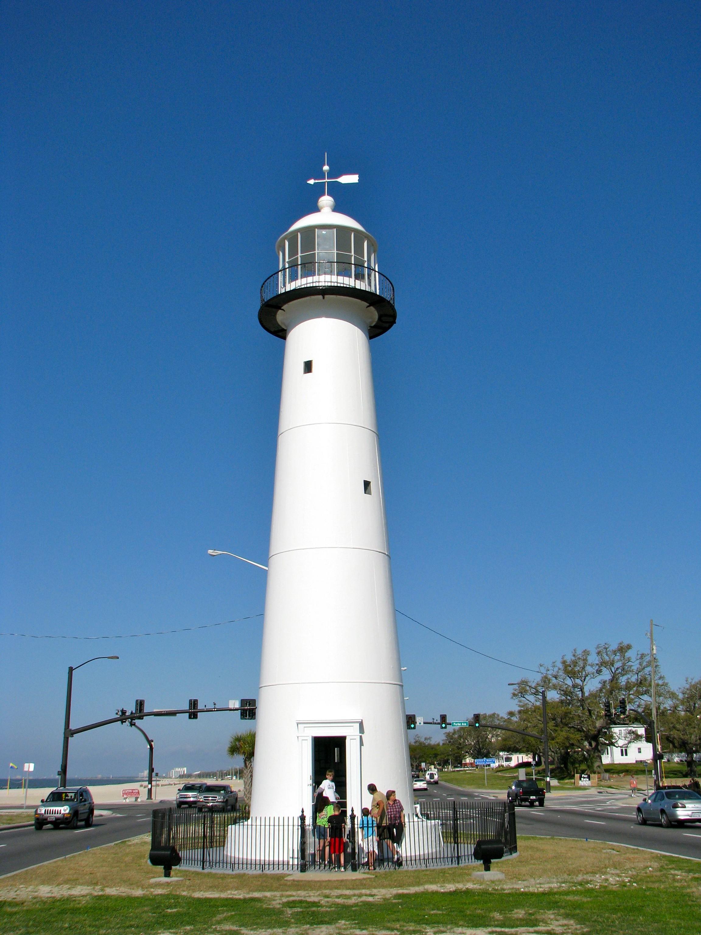 Biloxi Lighthouse Twelve Mile Circle
