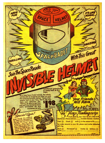 Get Your Invisible Space Helmet | by In Memoriam: paul.malon