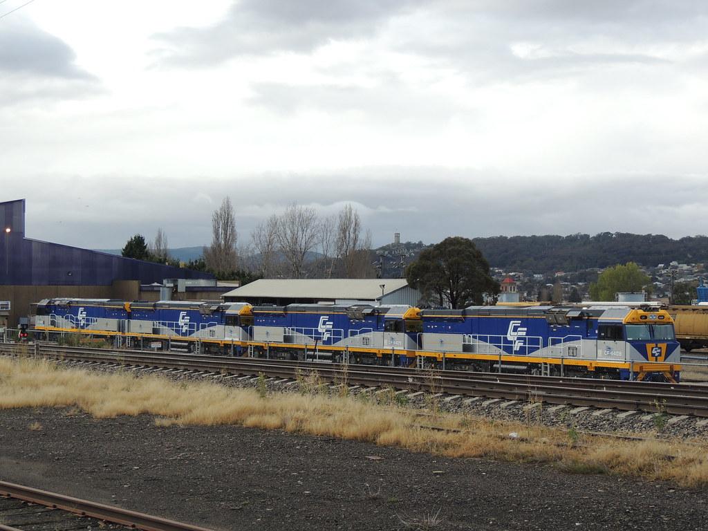 CF4408, CF4409, CF4410 and CF4407 at Goulburn by AaronHazelgrove01