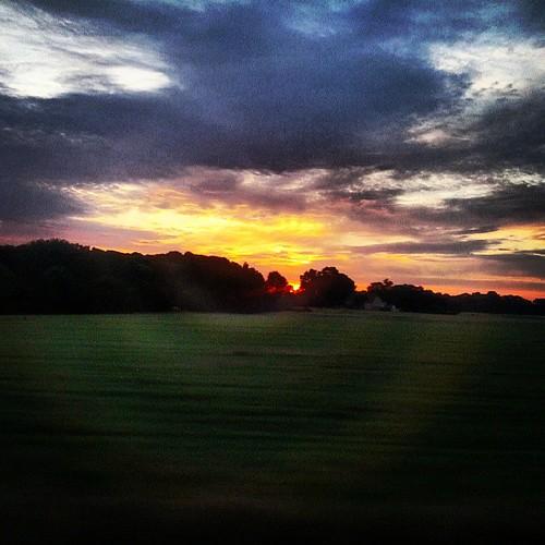clouds sunrise germany landscape deutschland saxony wolken sachsen landschaft sonnenaufgang badlausick instagram
