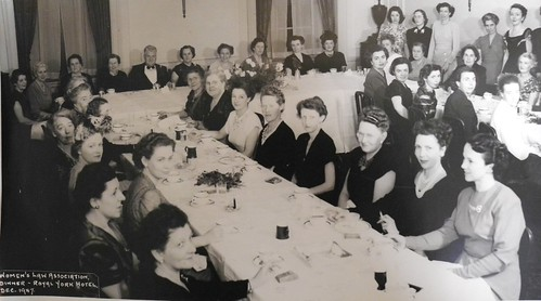 Women's Law Association dinner - Royal York Hotel, Dec. 1947 | by Archives of the Law Society of Ontario