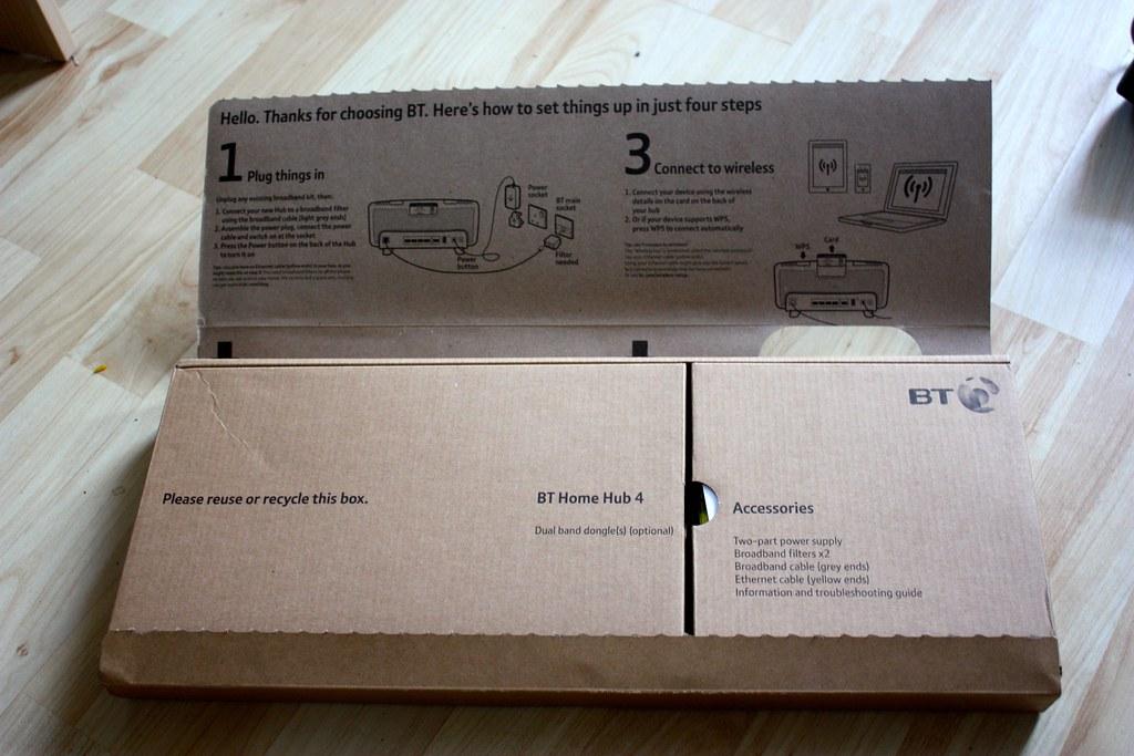 BT Home Hub 4 unboxing | Neil Turner | Flickr