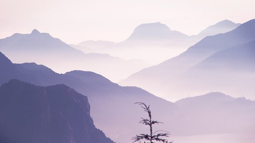 Mountains in the fog | by moonstream