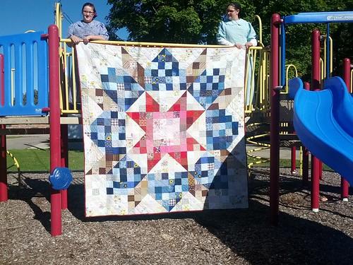 My Aunt's quilt