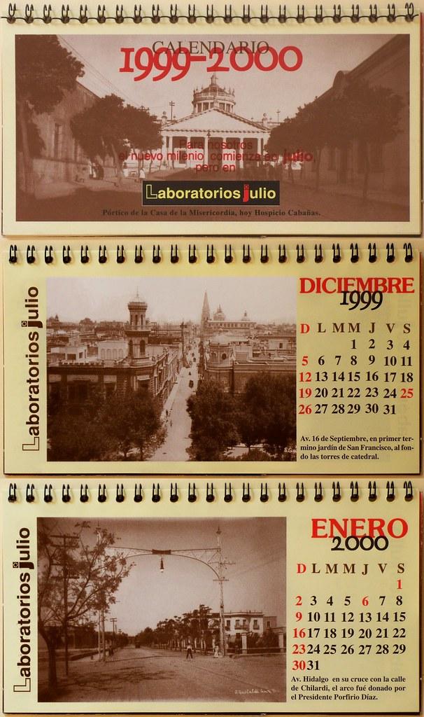 Calendario Julio Del 2000.1999 2000 Calendario De Laboratorios Julio En La Imagen