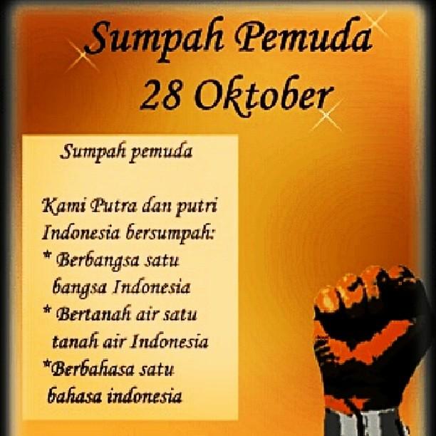 Happy Sumpah Pemudah Days Hopefully Clean Of Corruptor I Flickr