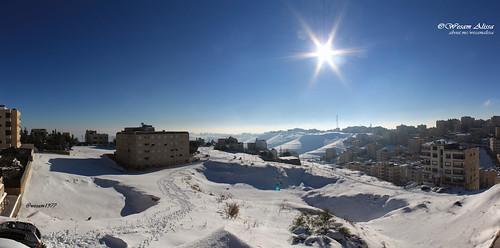 winter snow storm amman jordan alexa