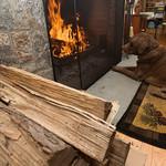 Rowan and the fire
