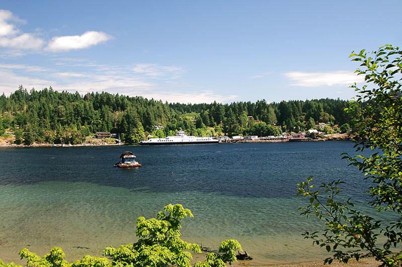 Fulford Harbour, Saltspring Island, Gulf Islands, British Columbia, Canada
