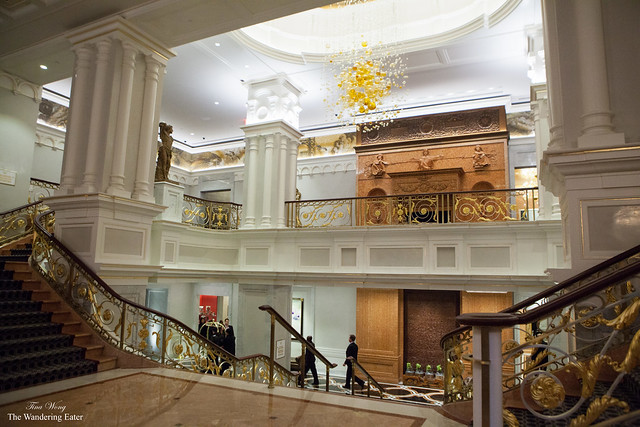 The lobby and the Grand Staircase