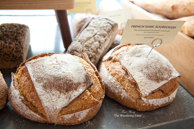 Loaves of French Dark Sourdough