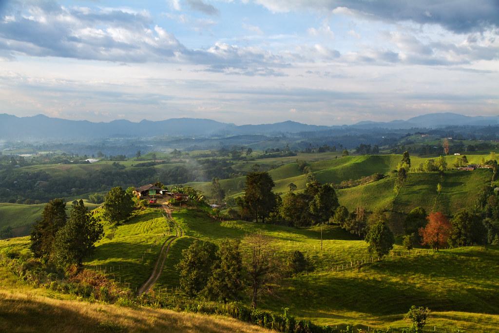 Filandia Colombia The Coffee Region Of Colombia Has