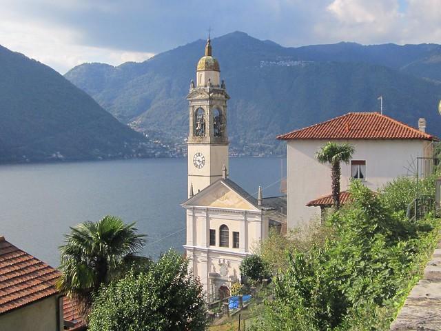 Nesso, sul lago di Como