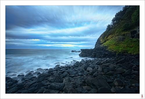 ocean sea cliff seascape water rock sunrise dawn nikon shoreline boulderbeach lennoxhead d90 stephenbird