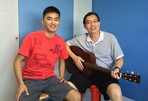 Adult guitar lessons Singapore Jason