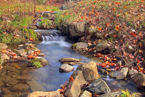 autumn fall water creek stream fallcolor westvirginia hdr autumncolor caponsprings