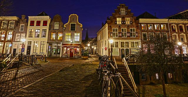 Utrecht, Oudegracht - HDR