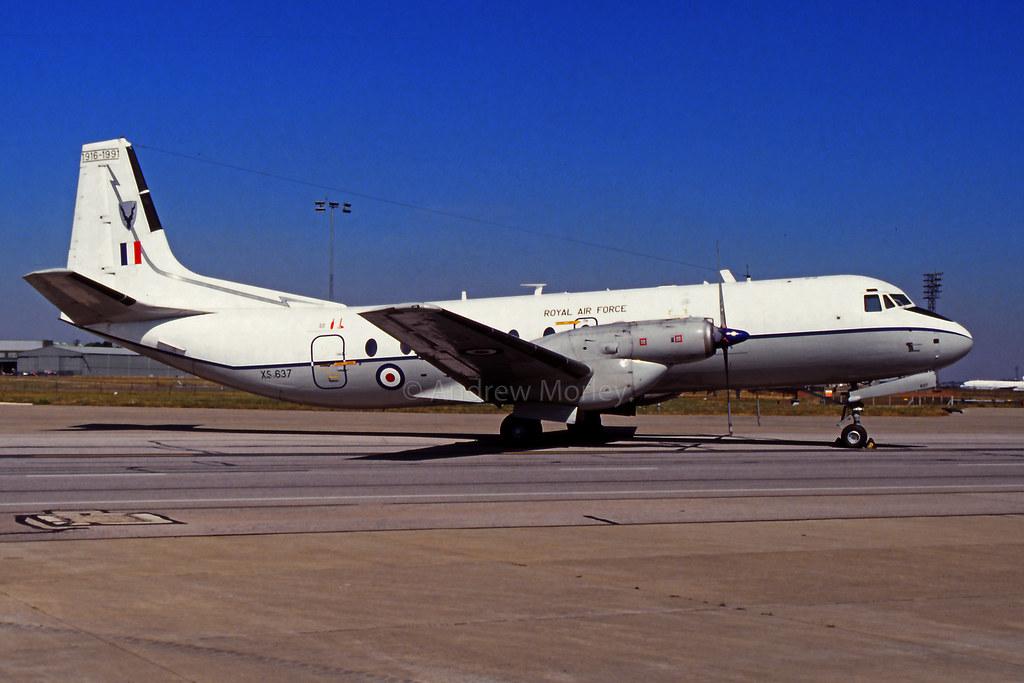 RAF Andover at Brize 91.