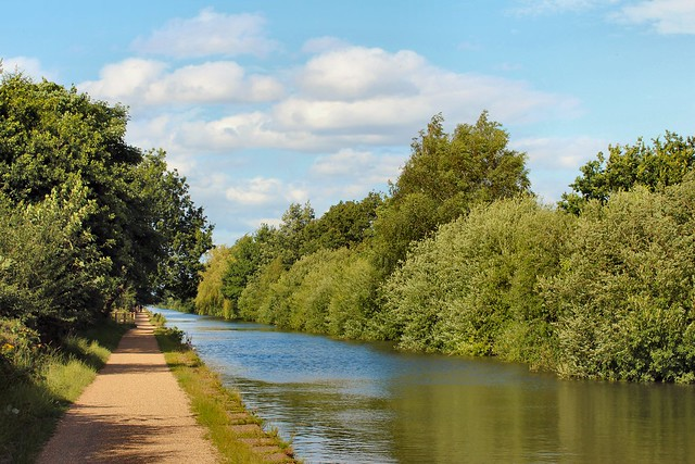 17th July 2015. The Bridgewater Canal at Timperley, Cheshire.